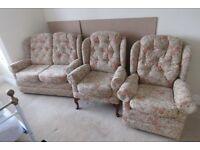 Three piece cottage suite (HSL)