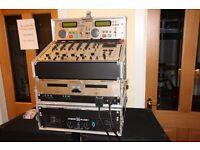 Dual CD player, Mixer and Light Controller