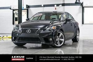 2014 Lexus IS 350 GROUPE DE LUXE FULLY EQUIPED-LOW MILEAGE