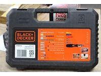 BLACK + DECKER DRILL BIT SET X 120 A7220