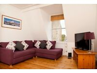 Short Term Lets (1-3 Months) Traditional top floor 1 bed apartment in the heart of Stockbridge (251)