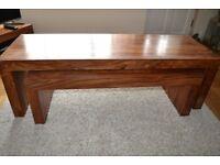 M&S Furniture - Dark Wood - TV unit - Coffee Table - Side Table