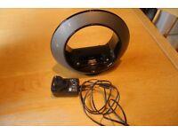 JBL Radial Micro Dock Station Black + remote + power adaptor