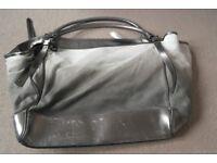 Burberry huge canvas bag £125