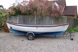 Sailing boat Day boat fishing boat in truly great condition.