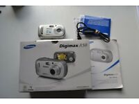 Samsung Digimax A50 5.0 MP Digital Camera - Silver