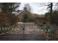 FABULOUS COUNTRY COTTAGE 4 BEDROOMS HALF ACRE 5 MINS. TROON, PRESTWICK DIRECT ACCESS TO ROAD NETWORK