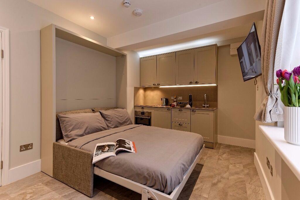 Modern Newly Refurbished Studio flat, Short Let, Regents University, All Bills & Wi-Fi,