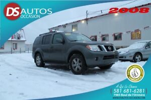 2008 NISSAN PATHFINDER SE **7 PASSAGERS** CAMERA DE RECUL FULL