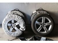 AUDI A6 Winter Tyres & Alloy's