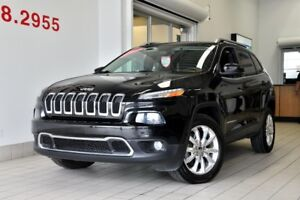 2014 Jeep CHEROKEE LIMITED V6 4X4 HITCH