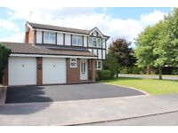 Four bedroom detached freehold house in sought after Lichfield area