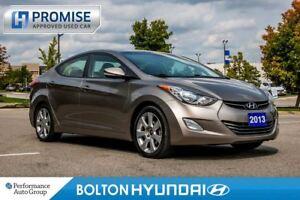 2013 Hyundai Elantra Limited. Leather. Bluetooth. Heated Seats.