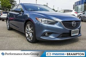 2014 Mazda MAZDA6 GT. NAVI. LEATHER. BOSE. BLUETOOTH. MOON ROOF