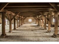 Reclaimed Wood Timber - Beams OLD GRANARY Building Wholesale