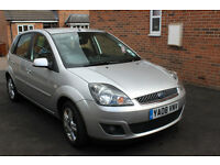 Ford Fiesta 08 Zetec 1.4 5dr full Ford service history manual 5 seats low mileage mot due July 17