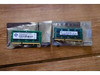 RAM Memory for Laptop - 1066MHz 4GB + 2GB