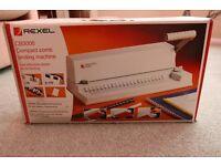 Rexel CB3000 Comb Binder. Unused