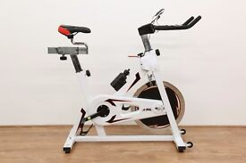 JLL Fitness Ltd - IC300 Exercise Bike White - Ex Showroom Model - Collection Only - 1 Month Warranty