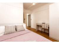 Beautiful bedroom in a spacious apartment near Kennington Park available in September