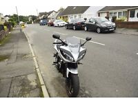 2009 Yamaha Fazer only 4500 miles absolute mint condition