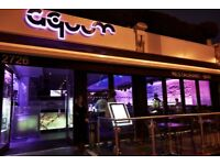 Waitress/Hostess Required for Busy Late Night Bar Part Time/ Weekends