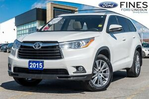 2015 Toyota Highlander XLE - SOLD! LEATHER, ROOF, AWD!