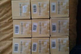 18 YANKEE CANDLES 2 x 9 Mixed Fragrance Sampler / Votives 49g each