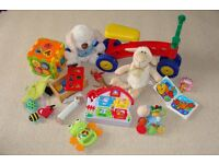Set of toys – 13 pieces (for 5 months – 2 yrs)