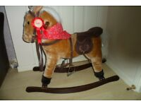 Rocking Horse with Sound - Ideal for Kids Nursery or Bedroom