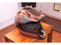 Nitro Helmet MX403 Size M Motorcycle Motorbike Motocross MX BMX Quad Off Road Bike