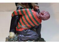 freddy vs jason movie figure/statue