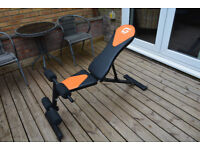 Unused adjustable exercise bench, item not in original box but is in exellent condition.