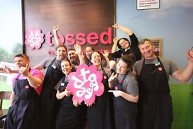 Team Leaders to join Tossed, £8.25p/h EXCLUDING bonus!