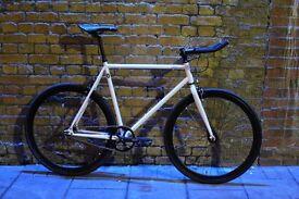 Christmas sale!!! Steel Frame Single speed road bike track bike fixed gear racing fixie bicycle t6c
