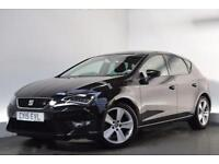 SEAT LEON 2.0 TDI FR TECHNOLOGY 5d 150 BHP (black) 2015