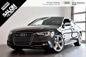 2013 Audi S5 3.0 TFSI DRIVE SELECT ! 8 PNEUS INCLUS !