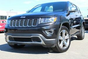 2015 Jeep Grand Cherokee LIMITED 4X4*CUIR/BANC CHAUFFANT/NAV*