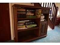 Bookcase With Lockable Cabinet