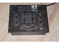 HW MX-5 2 CHANNELS STEREO MIXER
