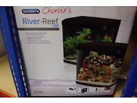 Interpet Reef Led Aquarium 94Ltr Plus Bio Reef Cabinet brand new unused