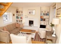 Short term let - Two bed mews property with garden & optional parking space in the New Town (522)
