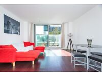** LUXURY 1 BED APARTMENT WITH PRIVATE BALCONY, HEALTH CLUB, CINEMA IN CANARY WHARF, E14 - AW