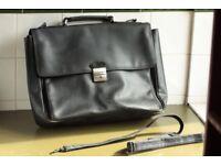 Marks and Spencer business laptop documents bag, black