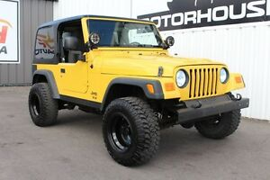 2005 Jeep TJ SE 4x4!
