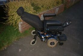 JAZZY 1103 ULTRA POWER CHAIR ELECTRIC WHEELCHAIR GOOD BATTERIES CHARGER VGC FREE DELLIVERY !!