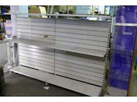 Retail Shop Display 5 Gondola Units with Shelves - Shop Shelving Stands Freestanding Unit