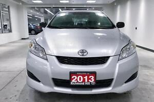 2013 Toyota Matrix FWD, POWER GROUP, LOW KM'S ONE OWNER, FULLY S