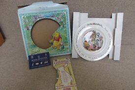 *NEW in Box * - Royal Doulton Winnie the Pooh Collection Plate - Ideal Birth/Christening Gift