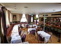 Charming & Confident Barman & Waitress Required For An Immediate Start !